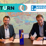 Broekman Logistics and UTURN make the next step improving the efficiency of container transport