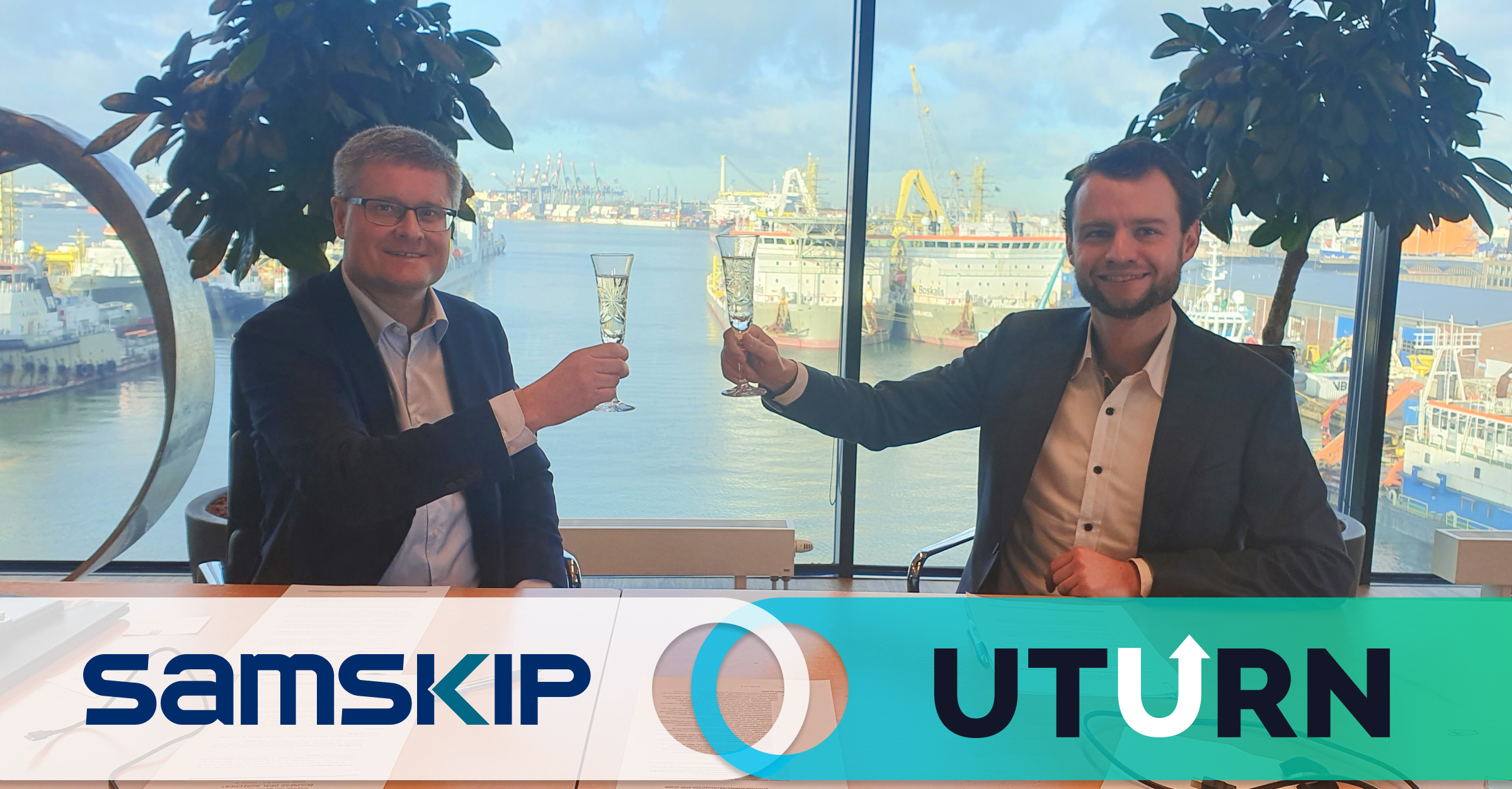 Samskip implements UTURN as their next step in the digitisation of their container transport